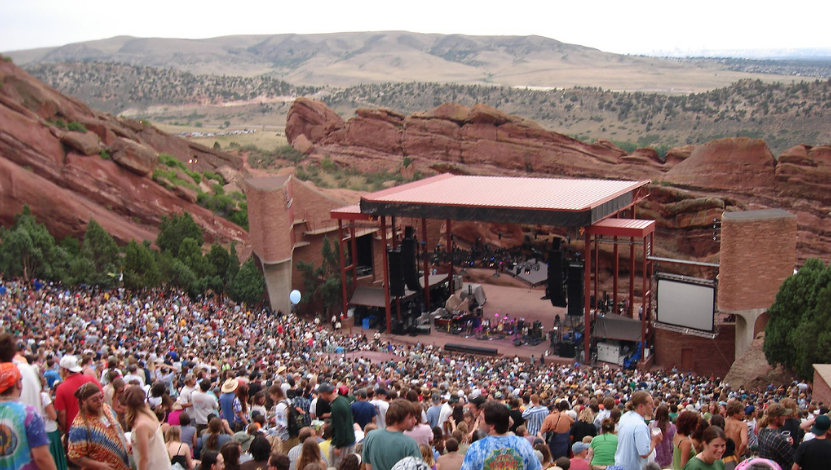 Red Rock Amphitheater Denver, CO