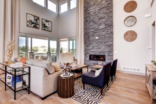Castle Rock Home Builders Mountain Property Builders Living Room