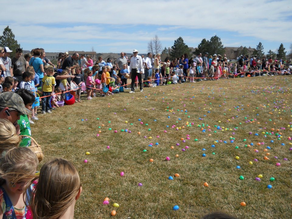 Eggstravaganza at Butterfield Crossing Park | The Meadows Castle Rock CO