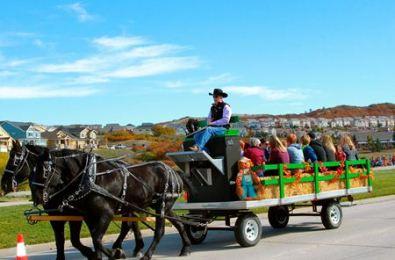 PumpkinFest HayRide at The Grange - The Meadows Castle Rock CO