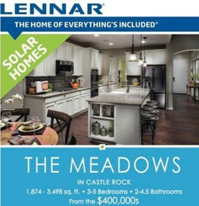 Home Within A Home: Lennar Homes Castle Rock CO