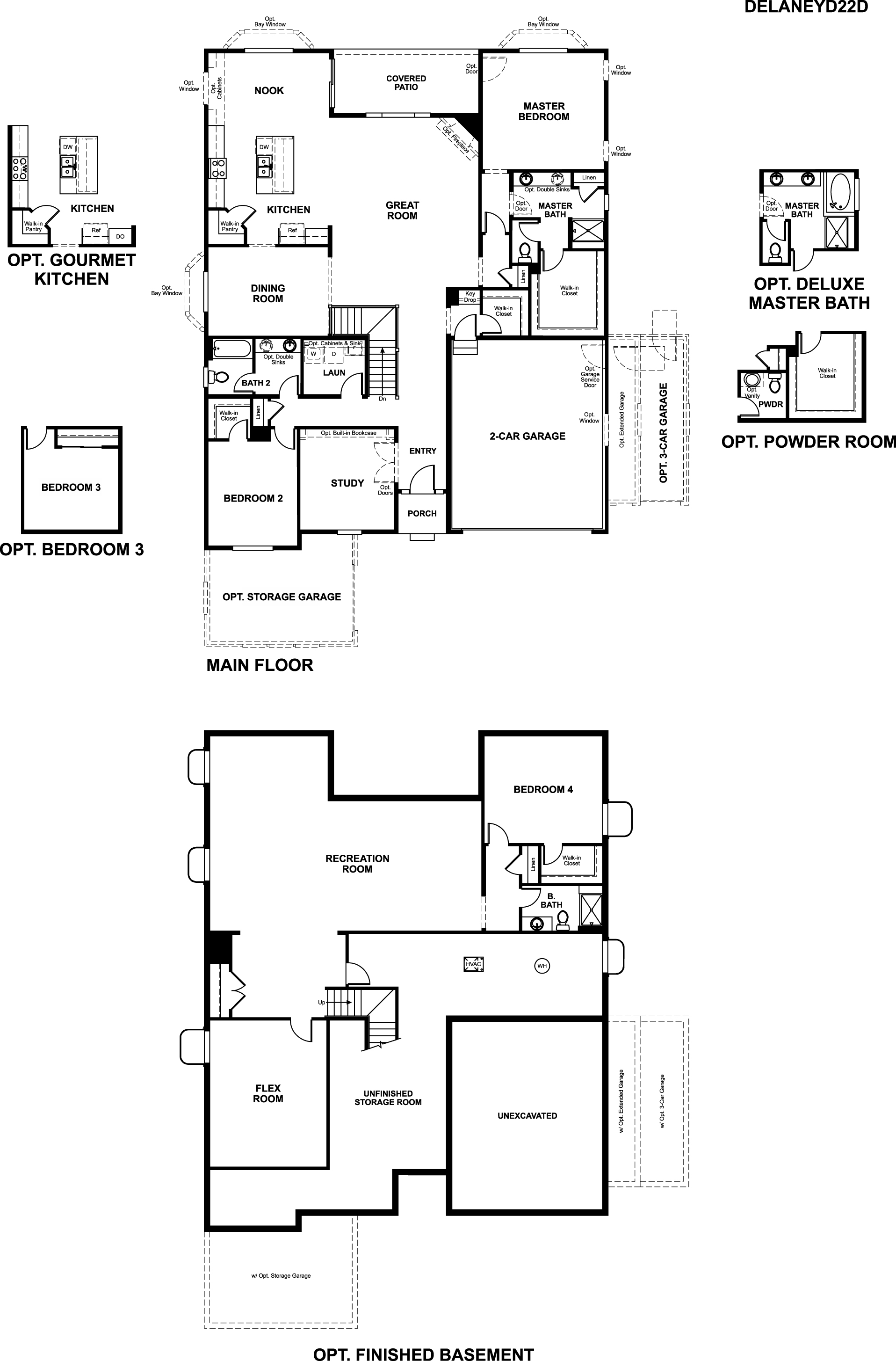 Richmond American Homes Floor Plans