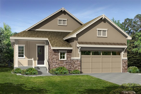 Patio Homes Castle Rock CO by CalAtlantic Homes