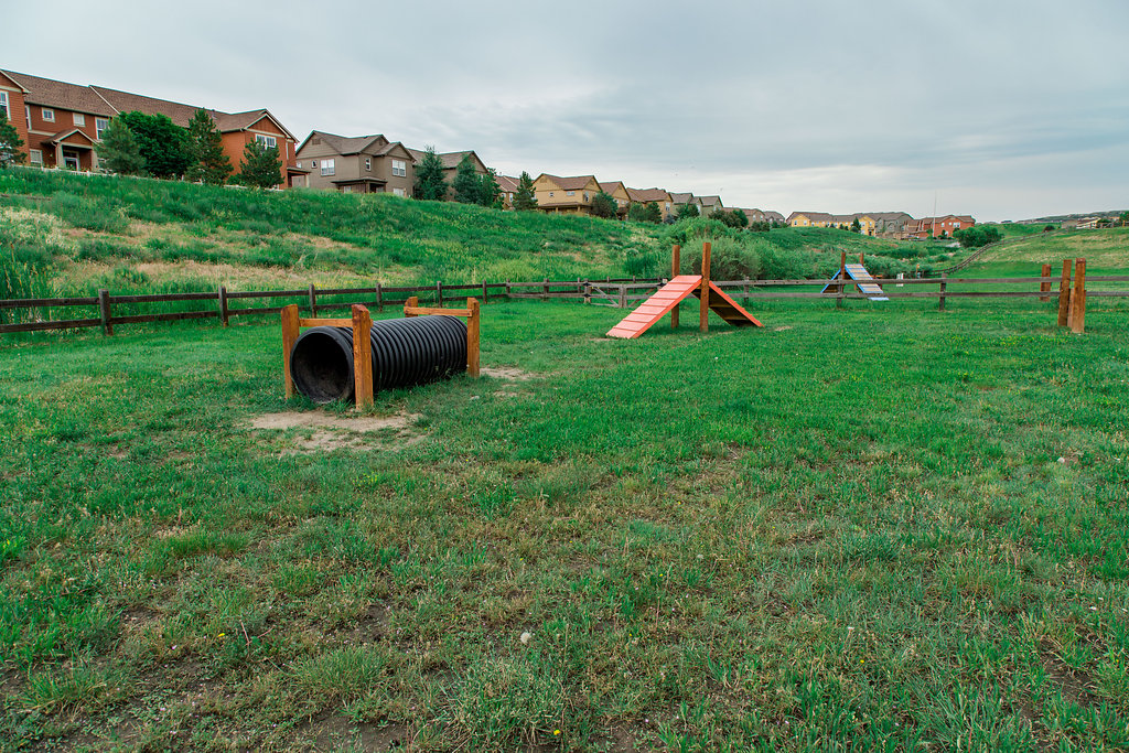 Wiggly Field Dog Park Castle Rock CO | The Meadows Castle Rock CO
