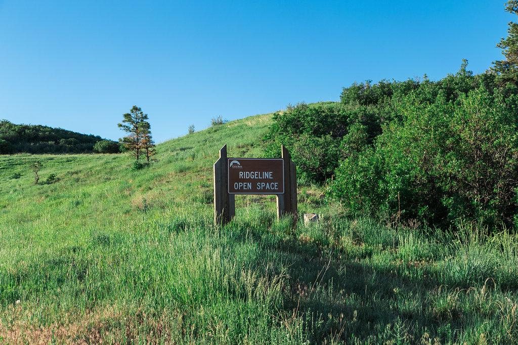 Ridgeline Open Space Castle Rock CO   The Meadows Castle Rock CO
