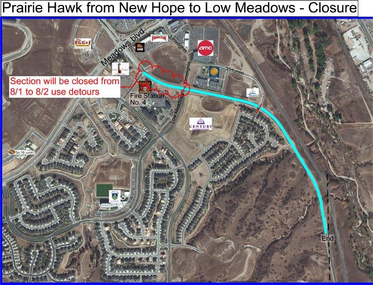 Prairie Hawk Traffic Update