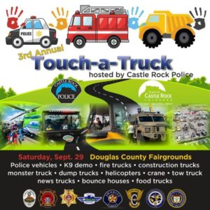 Touch a Truck Event 2018: Douglas County Fairgrounds | The Meadows Castle Rock CO