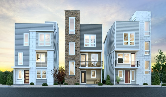 Richmond american homes castle rock co cityscapes the for American housing builders