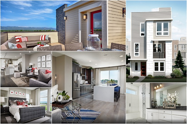 Richmond American Homes in Castle Rock CO: Cityscapes | The Meadows