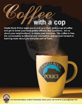 Coffee With a Cop: Castle Rock Police | The Meadows Castle Rock CO